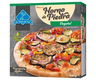 PIZZA A LA PIEDRA VEGETAL x 6